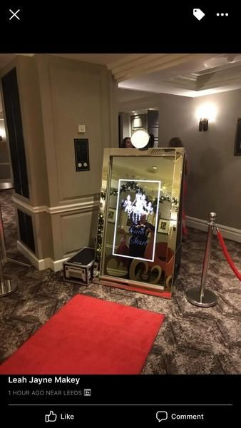 Magic Mirror Photo Booth For Rent