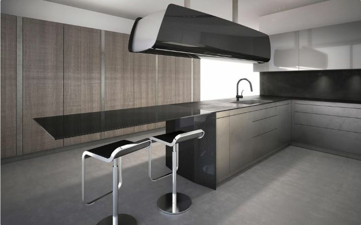 TONCELLI - Invisibile - Spaces defined by cool colours and warm materials