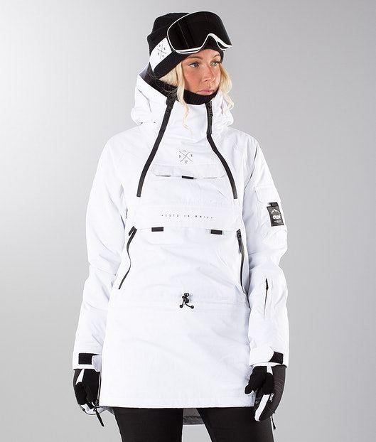 e61045dd7edd Dope Akin W Snowboard Jacket White