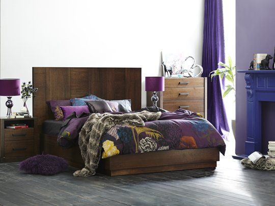 Dusk Tall Headboard with Gas Lift Base: Queen Bed Frame (Gas Lift Base)