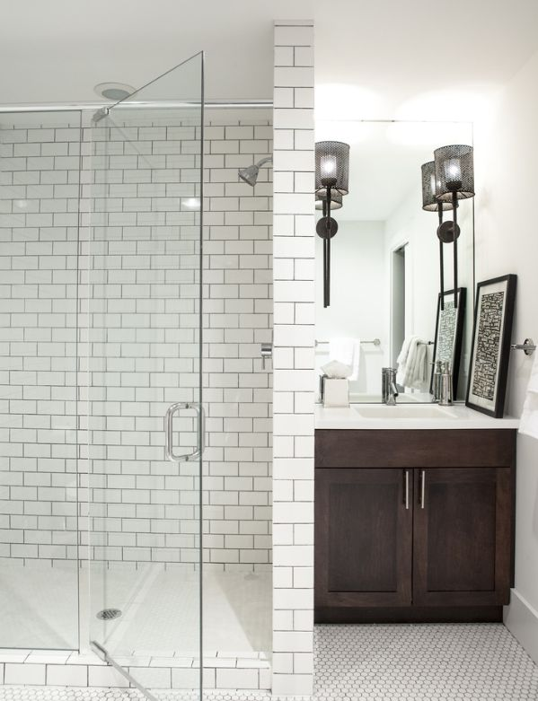 110 Best White Bathroom With Wood Or Dark Vanity Images On Pinterest | Bathroom  Ideas, Bathroom Remodeling And Bathroom Inspiration Part 47