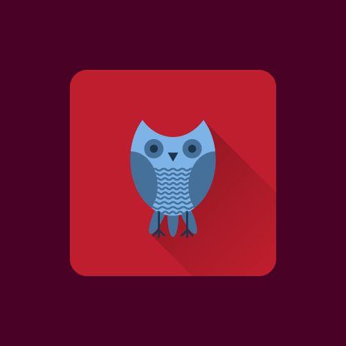 Записки микростокового иллюстратора: Уроки Adobe Illustrator: Как нарисовать сову в стиле Flat для микростоков