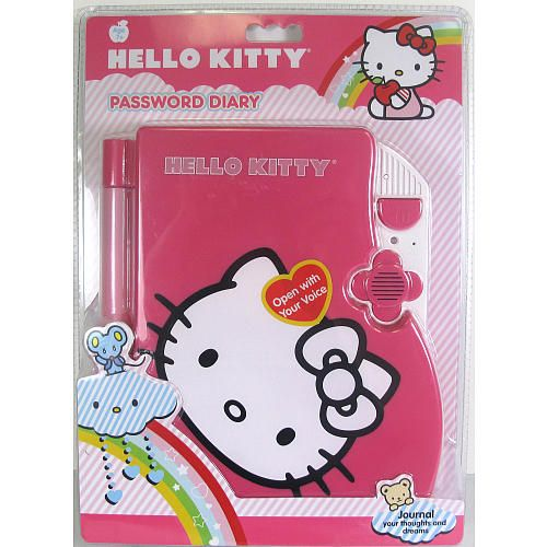 Hello Kitty Toys R Us : Hello kitty password diary holder toys r us and