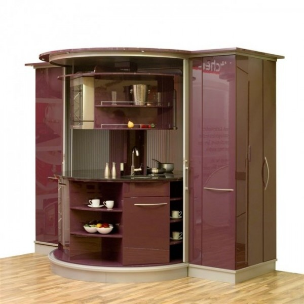 lazy susan cabinets so creative and great for small spaces or maybe a rec room