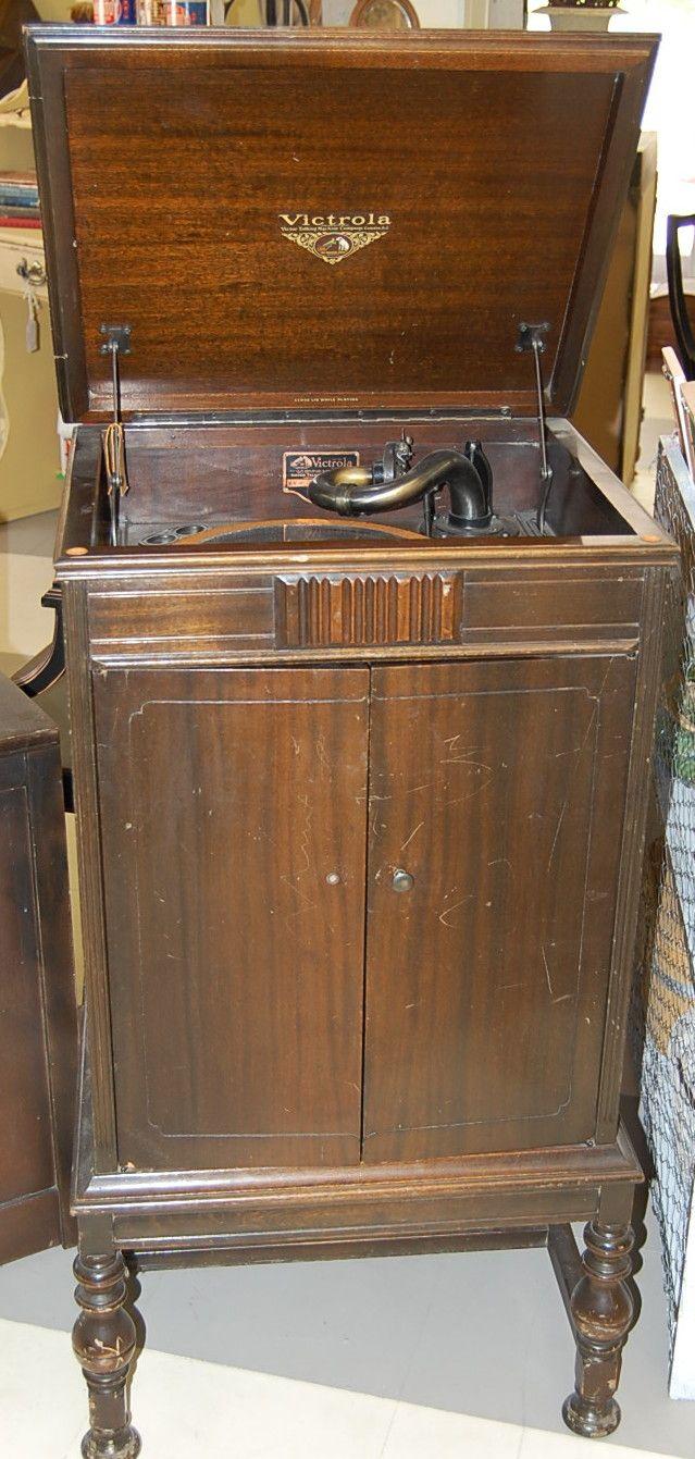 Antique Victrola Antiques Pinterest