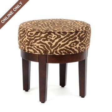 garfield vanity stool