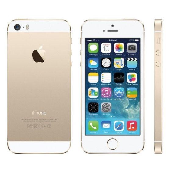 Apple iPhone 5s Unlocked GSM 4G LTE Dual-Core Phone w/ 8 MP Camera (16GB/32GB/64GB)