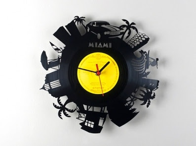 Groovy Records - Product - Clocks