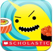 Sushi monster-a free scholastic math app for iPad