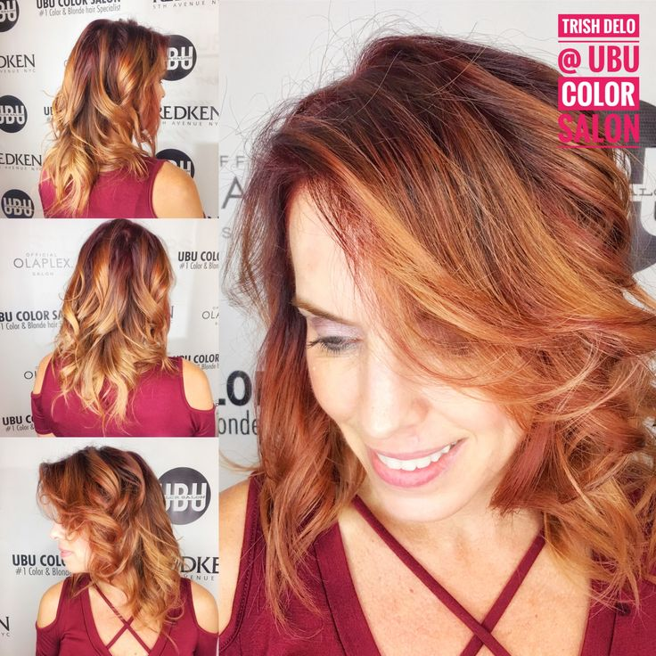 Love these rich red and jewel tones💎! Balayage w/ #redkenfreehand with just 10vol for 20 min to not bring her up too light. Added some Cherry Cola #redkenshadeseq06Rb for her finishing glaze. Delish? Salon: @ubucolorsalon Stylist: @trishdelohair 🍷🍷🍷🍷🍷🍷🍷🍷🍷#redhair #hair #colorspecialist #tampabay #redkencertifiedhaircolorist #fall #fashion #art #beauty #balayage #ontrend