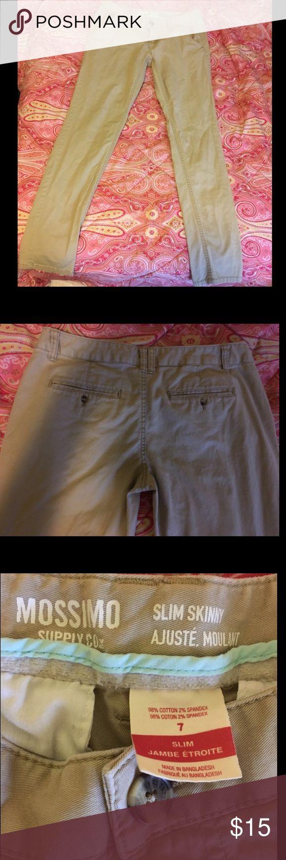 Kaki Pants (7) Kaki pants! Like new!😊 Mossimo Supply Co Pants