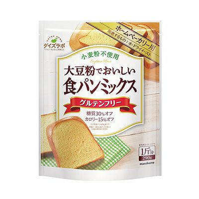 ダイズラボ <大豆粉でおいしい食パンミックス> - 食@新製品 - 『新製品』から食の今と明日を見る!