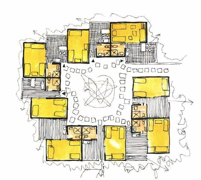 Port-Barcarès : Etude d'aménagement  Candilis Georges (1913-1995)