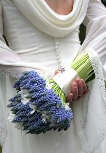 purple hyacinth wedding bouquet Archives - The Wedding Specialists