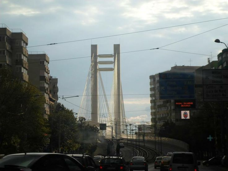 The Basarab Bridge,Bucharest,Romania