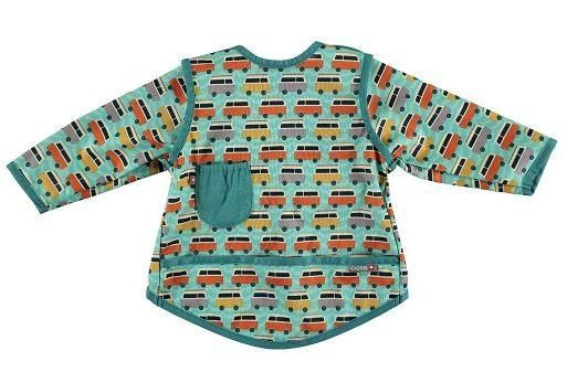 Close Parent - Pop In Coverall Bib - Stage 3 ( 6-18mths) - Campervan Green