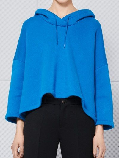 Pullover Simple Loosen Hoodies _Hoodies_Outerwear_WHOLESALE CLOTHING_Wholesale clothing, Wholesale Clothes Online From China