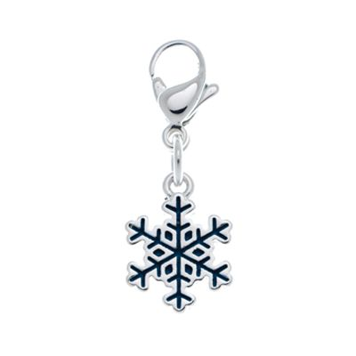 Snow Flake Accent Charm #LilyAnneDesigns #AccentCharms #MissLilyCollection #LittleLady