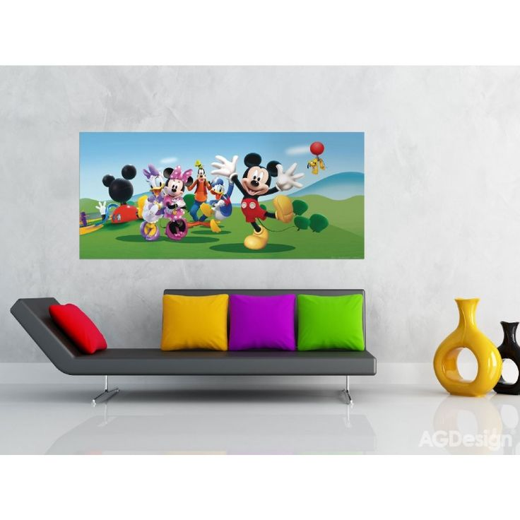 Mickey, Minnie egér gyerek poszter (202 cm x 90 cm)