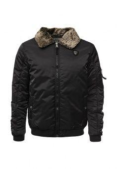 Куртка утепленная E-Bound, цвет: черный. Артикул: EB002EMKIJ98. Мужская одежда / Верхняя одежда / Демисезонные куртки