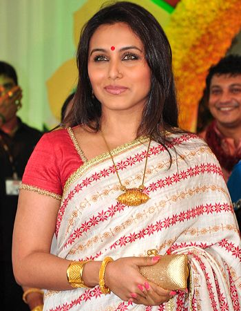 Rani Mukerji is going well with future in-laws!