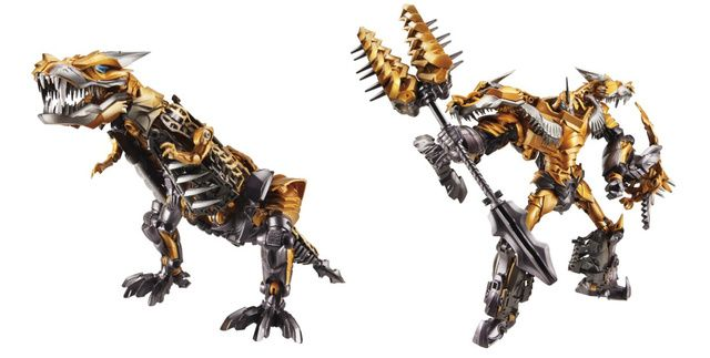 Transformers 4 Toys Reveal the Dinobots from Age of Extinction movie