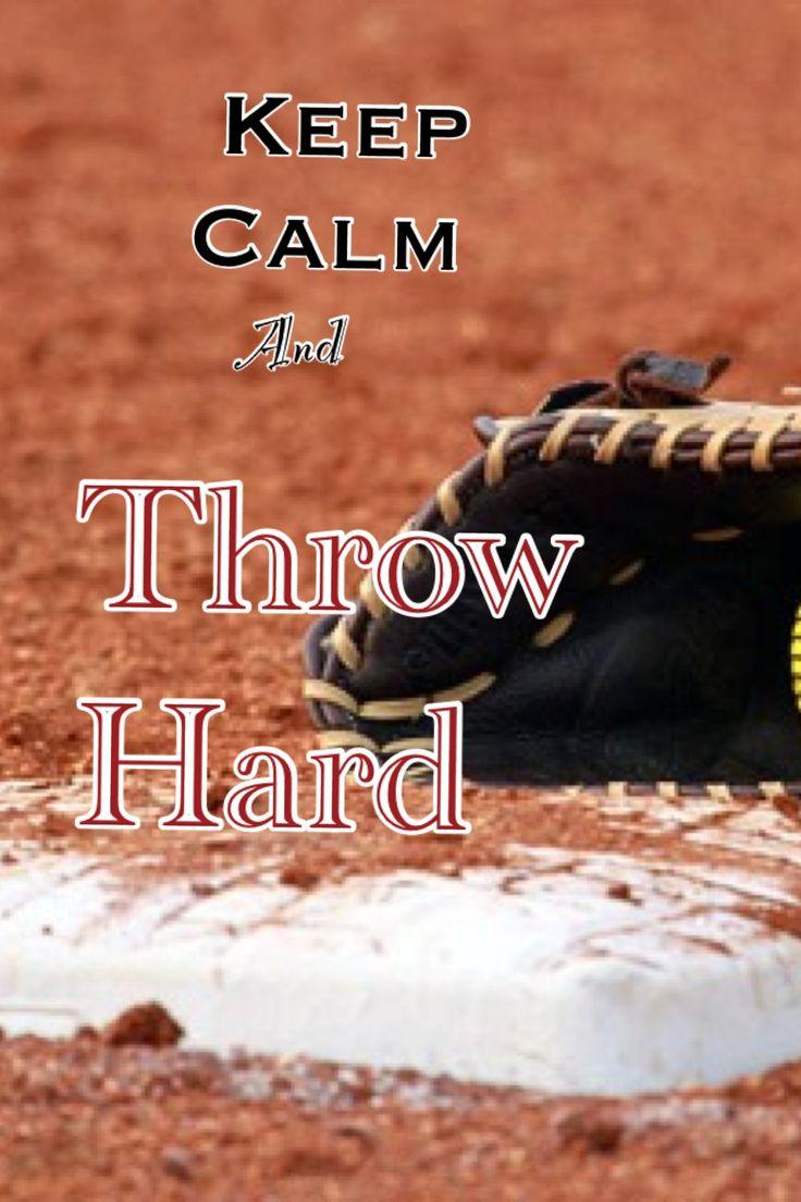 Baseball~Keep calm and throw hard!