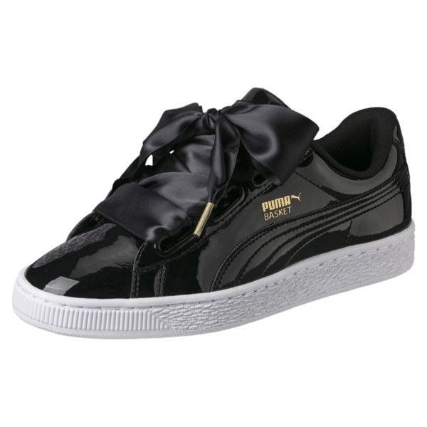 sports shoes f75aa d6ce0 Basket Heart Patent Women's Sneakers in 2019 | Accessories ...