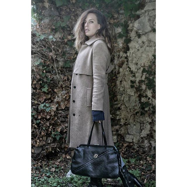 """#thequeenmother  """"I like ruins because what remains is not the total design, but the clarity of thought, the naked structure, the spirit of the thing"""" #tadaoando  .  .  .  .  #formygrandmother #ruins #mytuscany #abitofsunonarainyday #mybag #madewithlove #madeinitaly #designforapurpose #black #realleather #handmade #mayoualwaysbeinspired #womenarethefuture #womenempowerment #onlineshopping"""