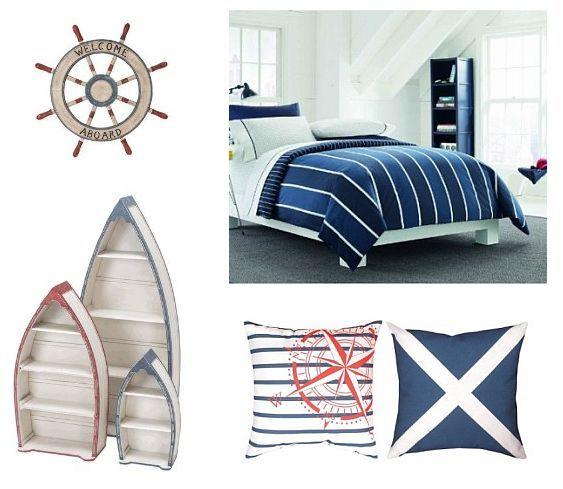 nautical decor | Nautical Bedroom Decor Ideas » Cute Beach Decor
