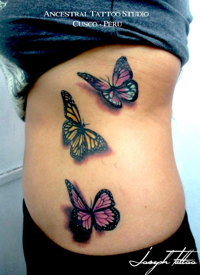 Tatuaje Mariposas A Colores Artista Joseph Herrera Cusco Peru Ancestral Tattoo Studio Tatuaje Mariposas Colores Tatuaje Cute Tattoos Tattoos Fish Tattoos