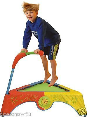 Kids Trampoline Bounce Child Toy Boys Girls Play Indoor Exerciser Fun Toy Sport