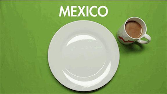 VAMOS. | Echal�un vistazo a la forma en que el mundo desayuna; Es incre�blemente delicioso