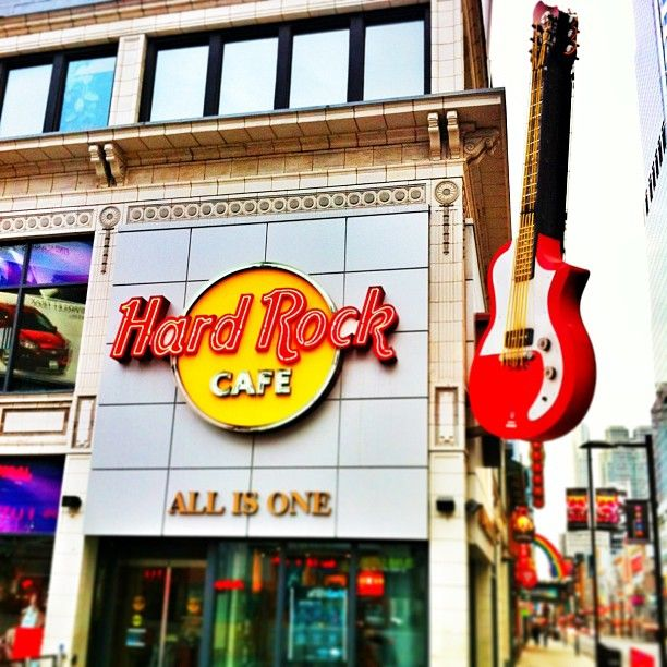 Hard Rock Cafe Toronto in Toronto, ON