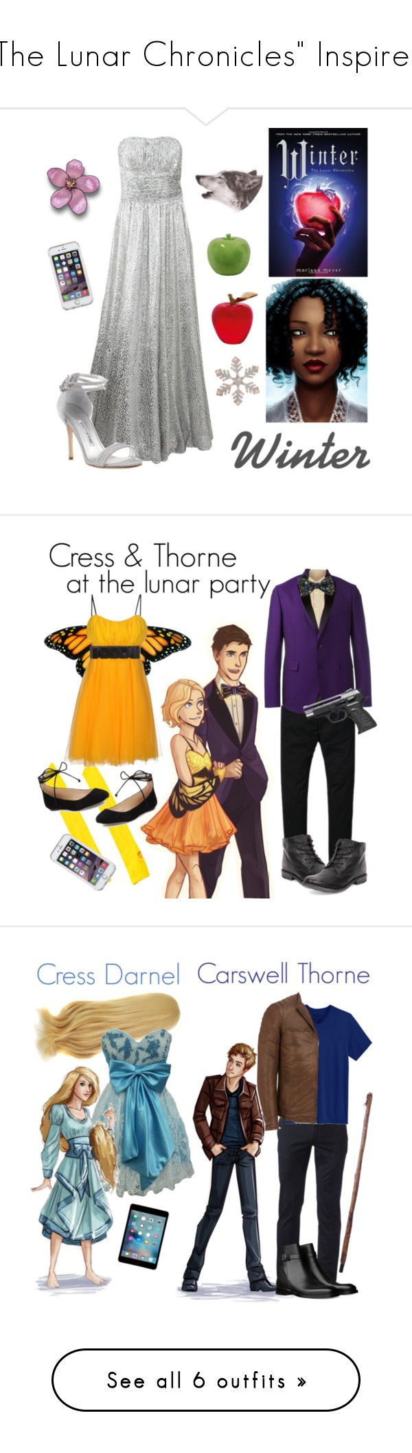"""""""""""The Lunar Chronicles"""" Inspired"""" by scamper623 ❤ liked on Polyvore featuring Michael Kors, Daum, Urban Trends Collection, Speck, Manolo Blahnik, Allure, 120% Lino, Paul Smith, Topman and Thomas Pink"""