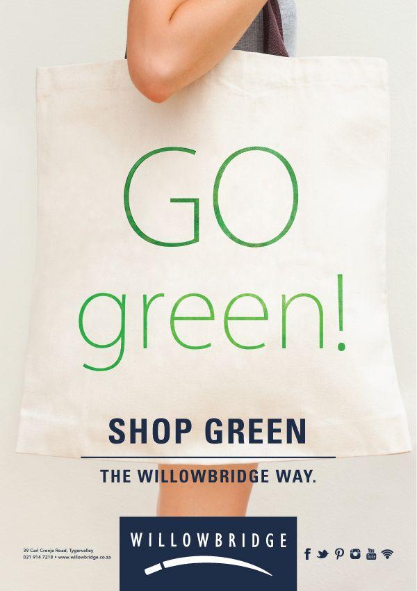 Go Green #TheWillowbridgeWay
