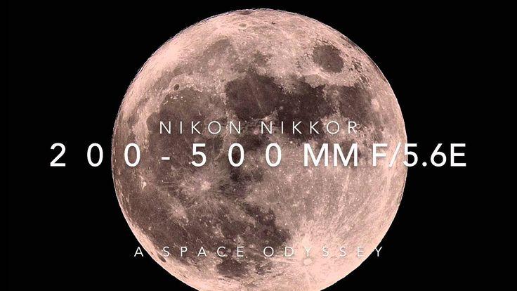 cool 2001: Space Moon Shot w/ Nikon 200-500mm f/5.6E