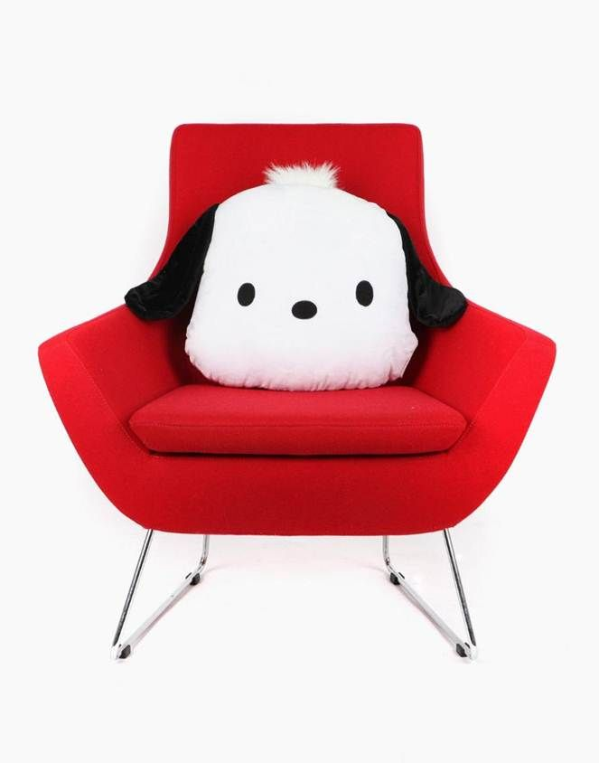 A touch of cuteness for Mom...the #Pochacco cushion!