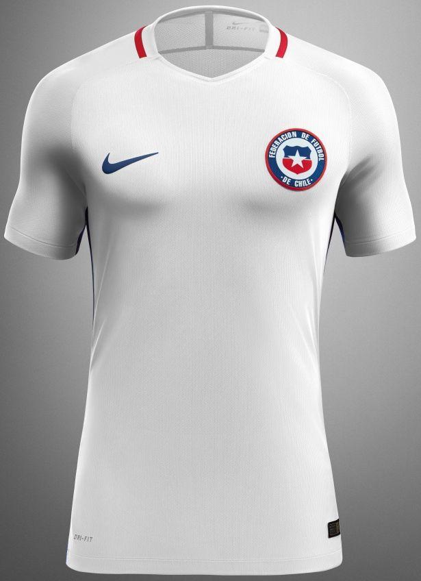 Nike apresenta as novas camisas do Chile - Show de Camisas
