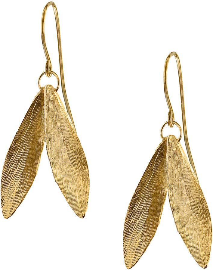 catherine zoraida leaf earring gifts