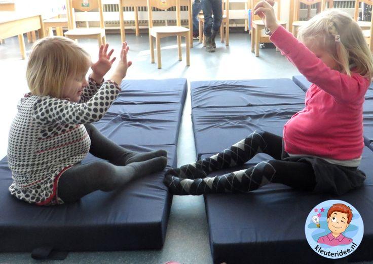 Zwangerschapsgym in de klas, thema baby voor kleuters, Kindergarten baby theme