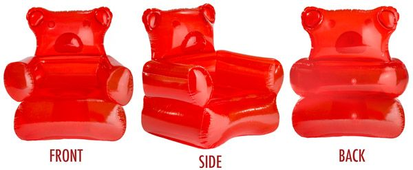 Gummy Bear Chair Inflatable Furniture Interiors And Room