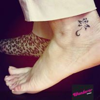 """The first day of #newyear came with two beautiful tattoos """"Free bird"""" #tattoo #wrist"""