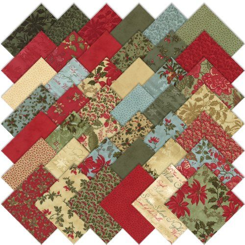 Tutaj cała kolekcja Winterlude, z której mamy 7 tkanin :)