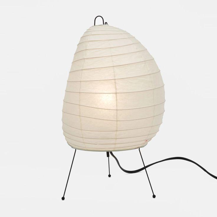 Akari 1n Light Sculpture Lamp Best Desk Lamp