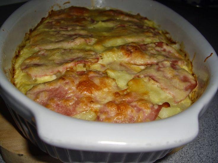 Dorothy Sweet: Cartofi cu sunca si cascaval