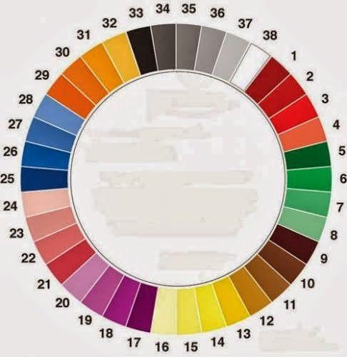 Alê - Bordados e Crochê: Como combinar cores sem errar?!!!