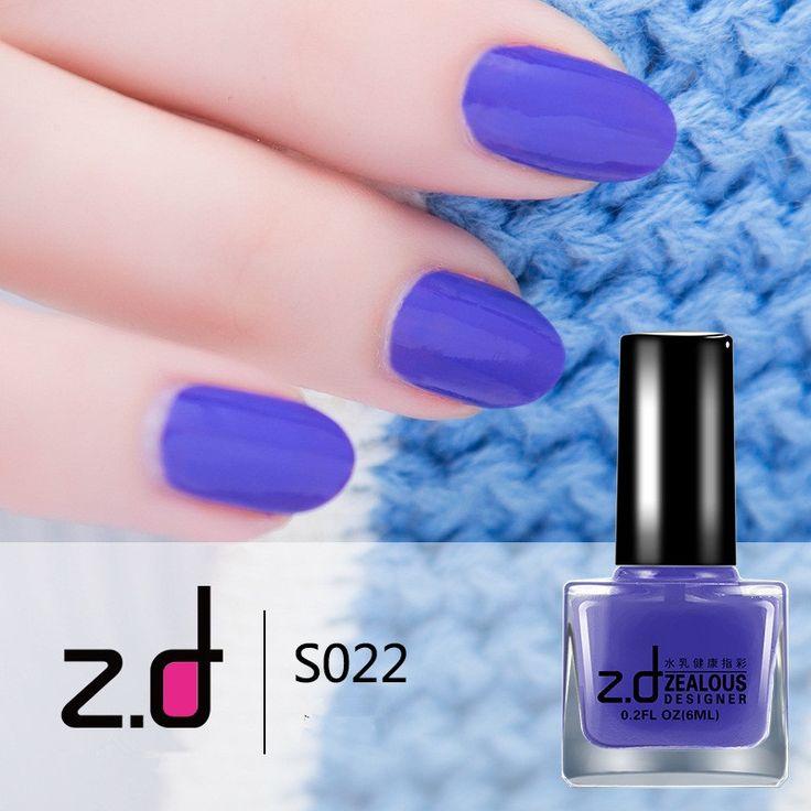 ZD Peel Off Nail Art Latex Skin Protected Liquid Easy clean Care Nail Polish Sexy Purple Series Nail Varnish Nagellak S018-22