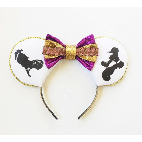 Hercules and Megara Disney Inspired Ears, Hercules Ears, Megara Mouse... ($30) ❤ liked on Polyvore featuring accessories, hair accessories, hair band headband, ribbon headband, bow headbands, wide headbands and head wrap hair accessories