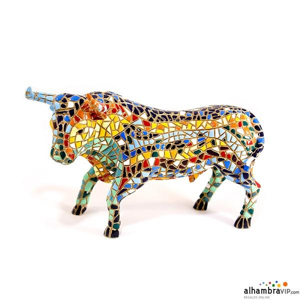 Toro español mosaico